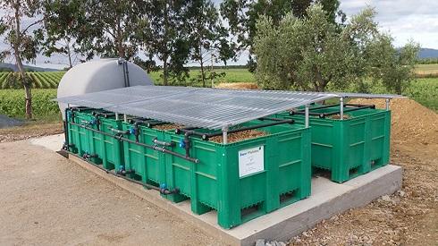 Installazione di Phytobac, messo a punto da Bayer, al fine di stoccare e abbattere i residui di agrofarmaci dopo i trattamenti: le soluzioni ci sono, basterebbe attivarsi a livello normativo per consentirne l'adozione da parte degli agricoltori