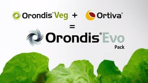 Orondis® Evo Pack, unione di Orondis® Veg e Ortiva®