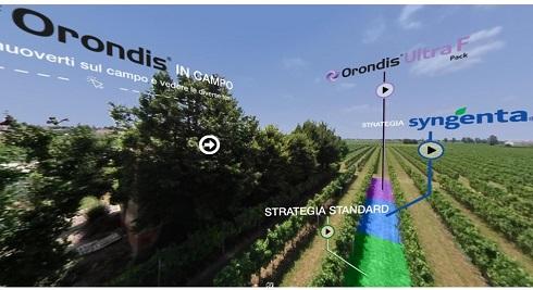 Grazie al sito dedicato, è possibile visionare liberamente i risultati delle prove in campo con i prodotti della linea Orondis