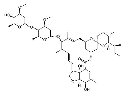 Struttura molecolare di ivermectina