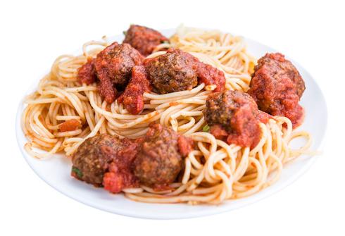 Spaghetti con polpette © HandmadePictures - Fotolia