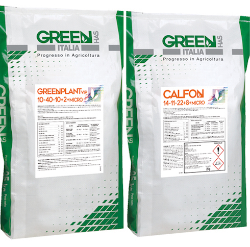 Sacchi di prodotti per la fertirrigazione acida