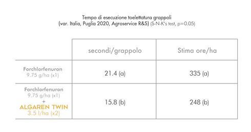 Algaren Twin prove su varietà Italia