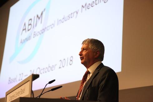 David Carey, direttore di IBMA nel suo discorso in occasione della 12.esima convention dell'associazione