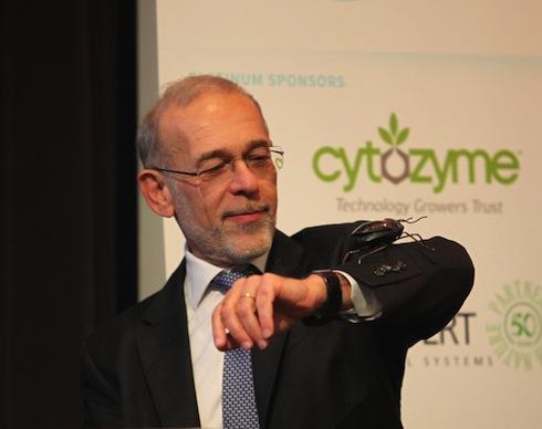 Vittorio Veronelli, presso la convention elevetica di IBMA