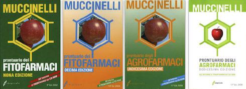 Prontuario dei fitofarmaci: le copertine delle quattro edizioni con Cd-Rom