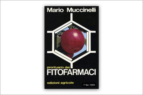 Prontuario dei fitofarmaci di Mario Muccinelli: la copertina della prima edizione, 1969