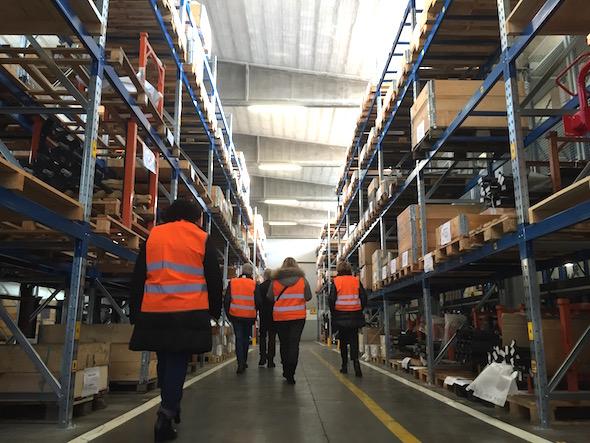 Visita a magazzino Kverneland