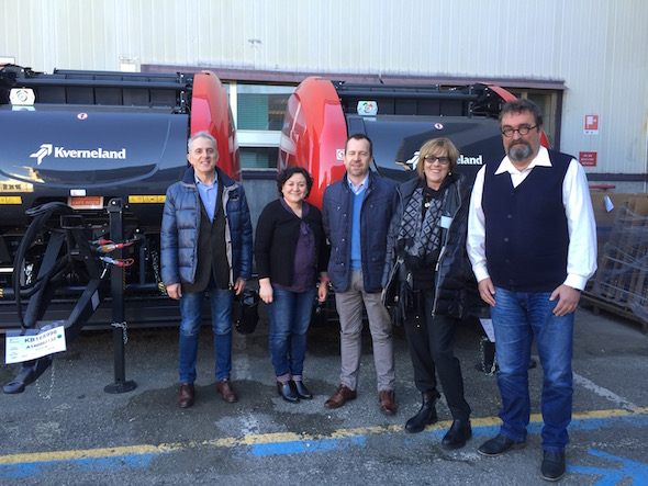 Staff Kverneland Group Ravenna e Italia