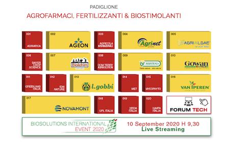 Padiglione agrofarmaci, fertilizzanti e biostimolanti
