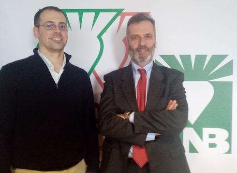 Da sinistra Matteo Ferri ed Enrico Gambi di Anb Coop