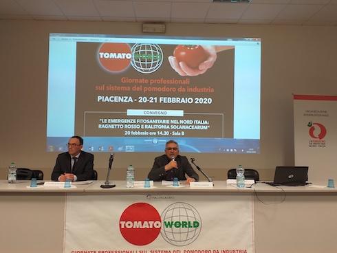 Tiberio Rabboni, presidente dell'Oipomodoro da industria del Nord Italia
