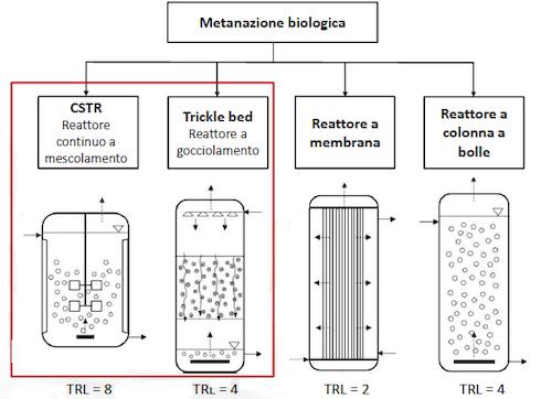 Le possibili configurazioni dei reattoriex situ