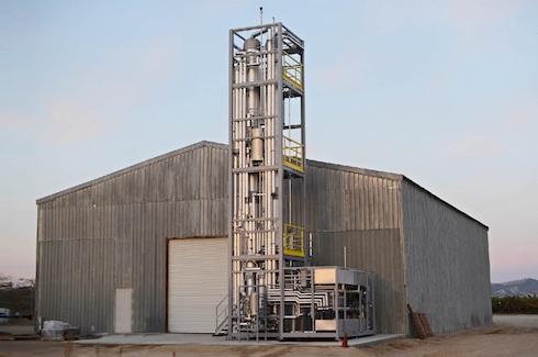 Il modulo di bioraffineria della Greenbelt Resource