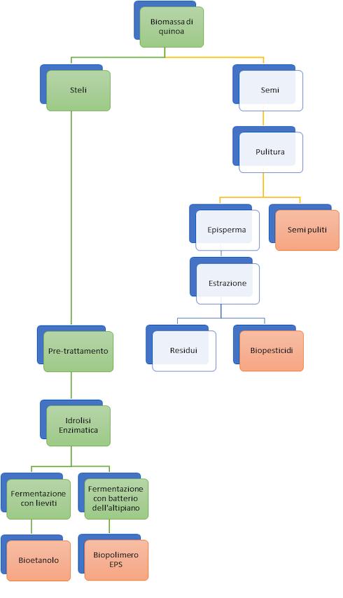 Il processo concepito dai ricercatori di Bio4energy