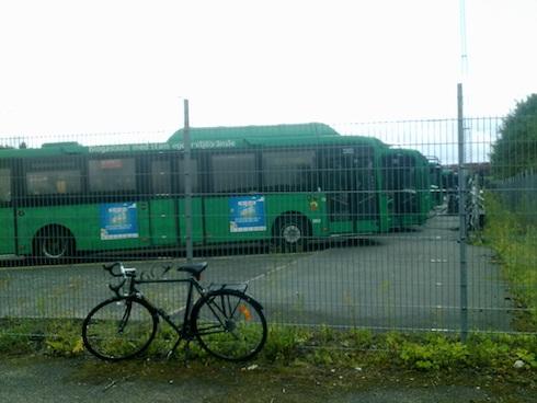 La stazione di ricarica di biometano per la flotta di autobus della città di Malmö