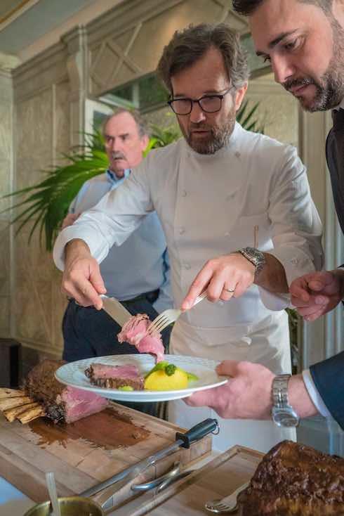 Carlo Cracco che cucina