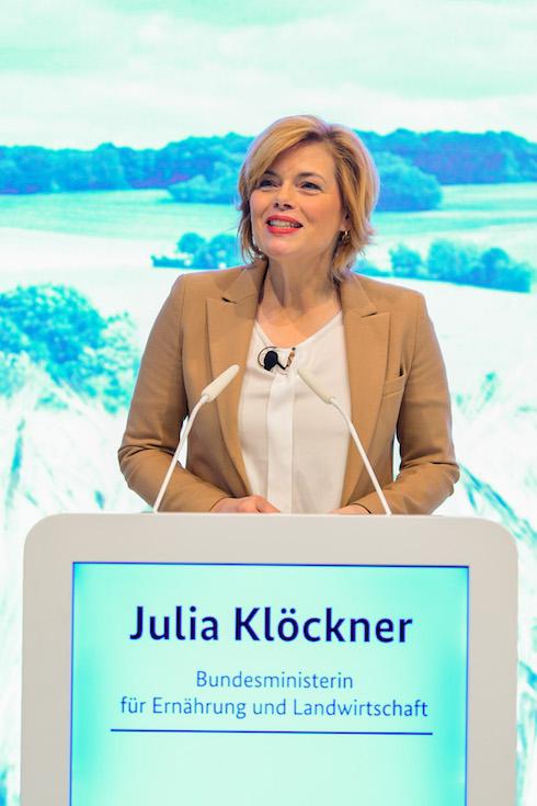 Julia Klöckner, ministro tedesco dell'Alimentazione e dell'agricoltura