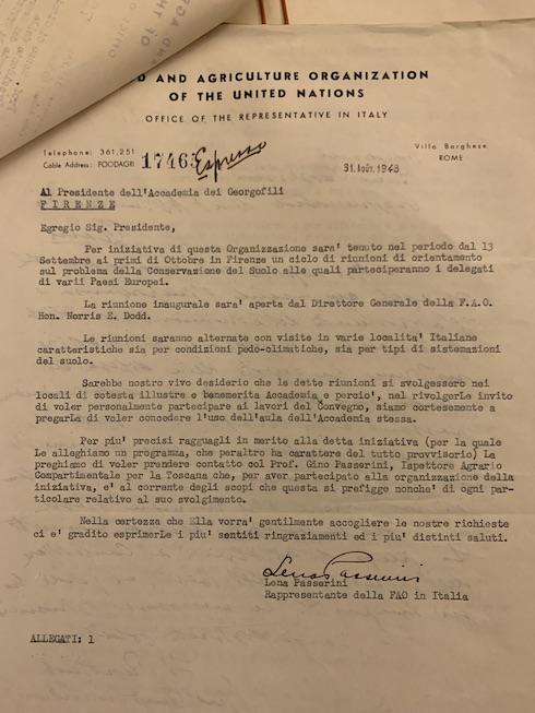 La lettera del 1948