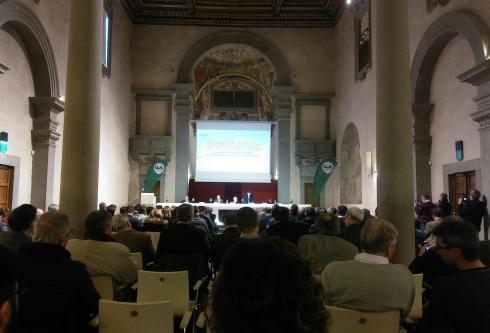 Un momento della tavola rotonda durante il Forum di Firenze