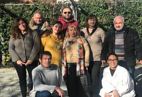 Il gruppo di ricerca di Lorenzo Guglielminetti