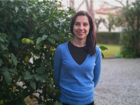 Sara Petrucci, coautrice del libro Ortaggi insoliti