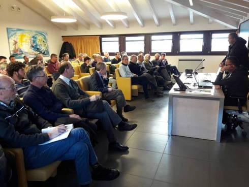 Un momento dell'incontro orrganizzato da FMach il 15 gennaio 2018