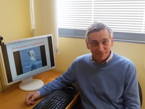 Antonello Pasini, climatologo, docente di fisica e ricercatore del CNR-Istituto sull'Inquinamento Atmosferico