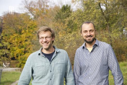 I fondatori di Pollinature: Claudio Sedivy e Tom Strobl
