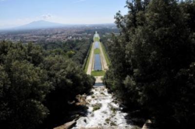 La Via d'acqua nel Parco della Reggia di Caserta