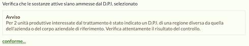 Avviso DPI