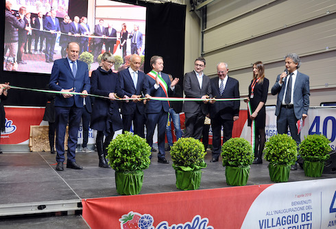 L'inaugurazione del nuovo stabilimento di Sant'Orsola