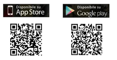 Per scaricare la app di Syngenta basta inquadrare con il proprio smartphone i QR code sopra riportati