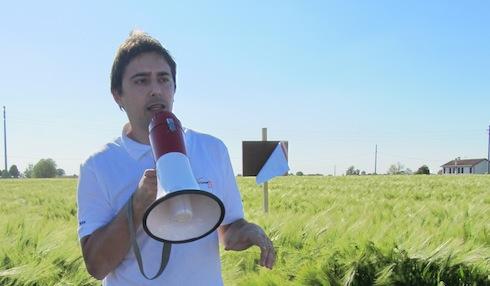 Bruno Barbonaglia durante CerealPlus tour
