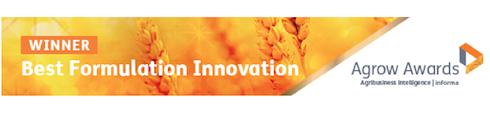 Ampexio® di Syngenta ha ricevuto nel 2018 il prestigioso premio Agrow come miglior innovazione nelle formulazioni