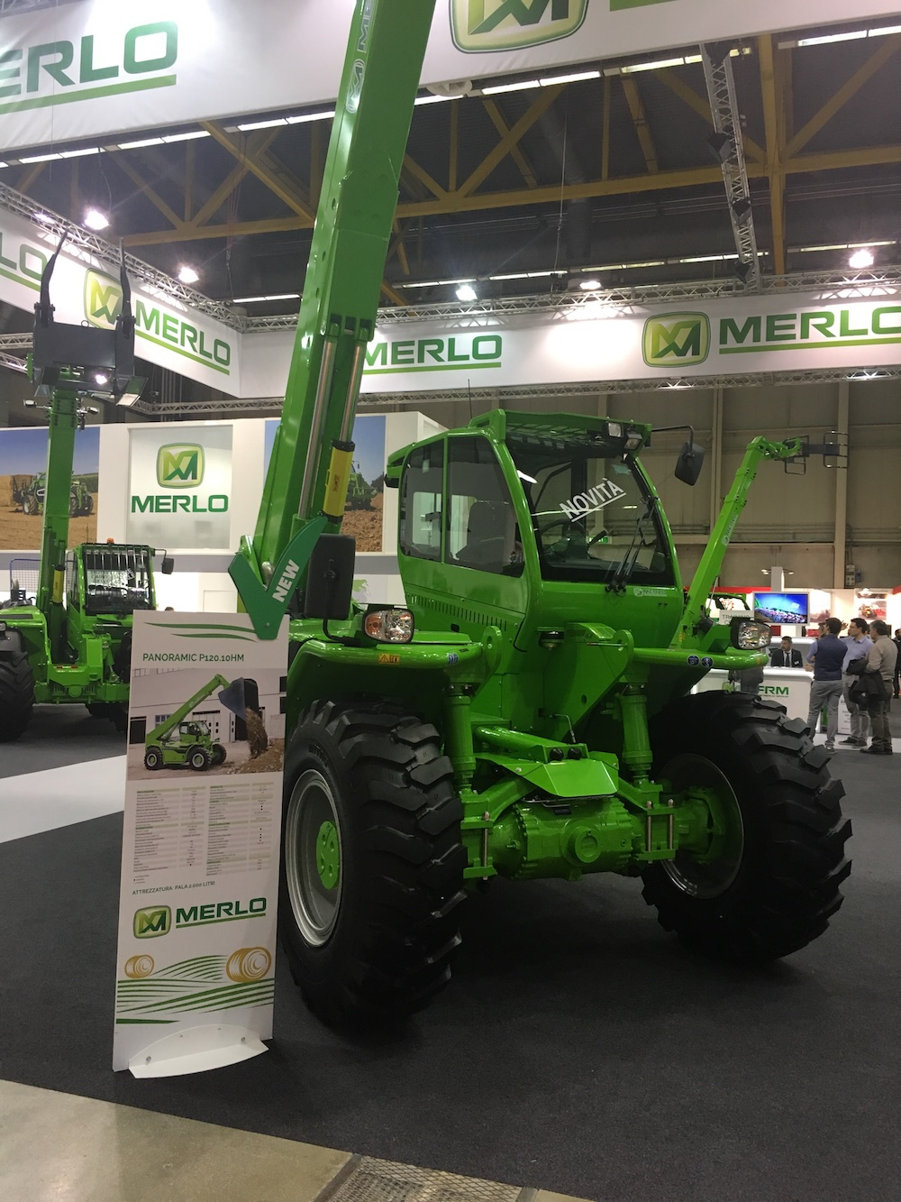 Merlo Panoramic P120.10HM