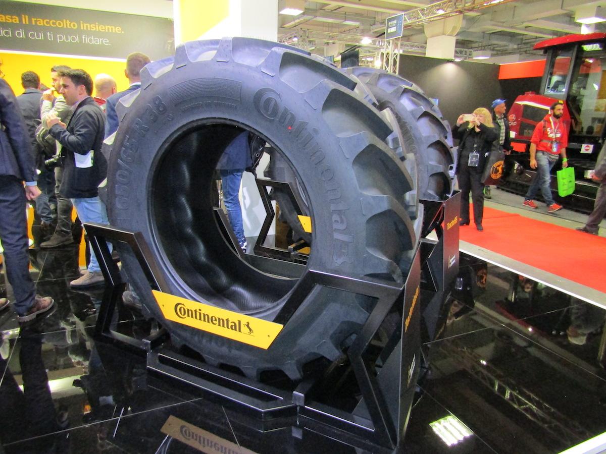 Pneumatico Continental TractorMaster. Eima 2018