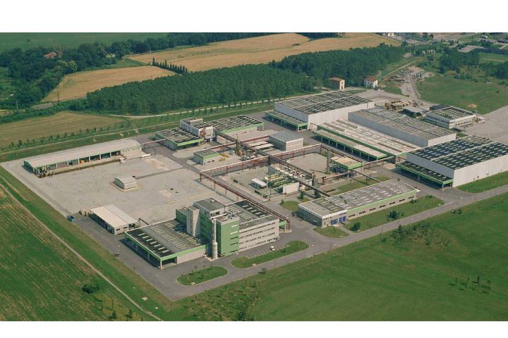 Il sito produttivo di Bayer a Filago