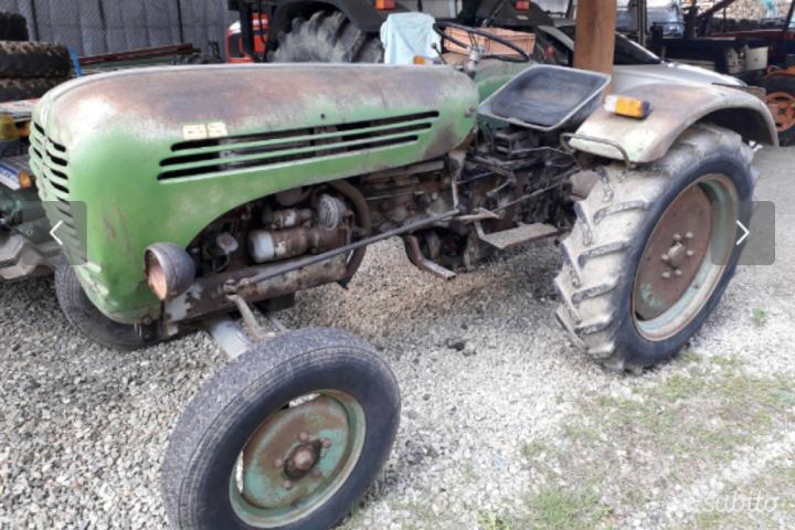 Un vecchio Steyr 188