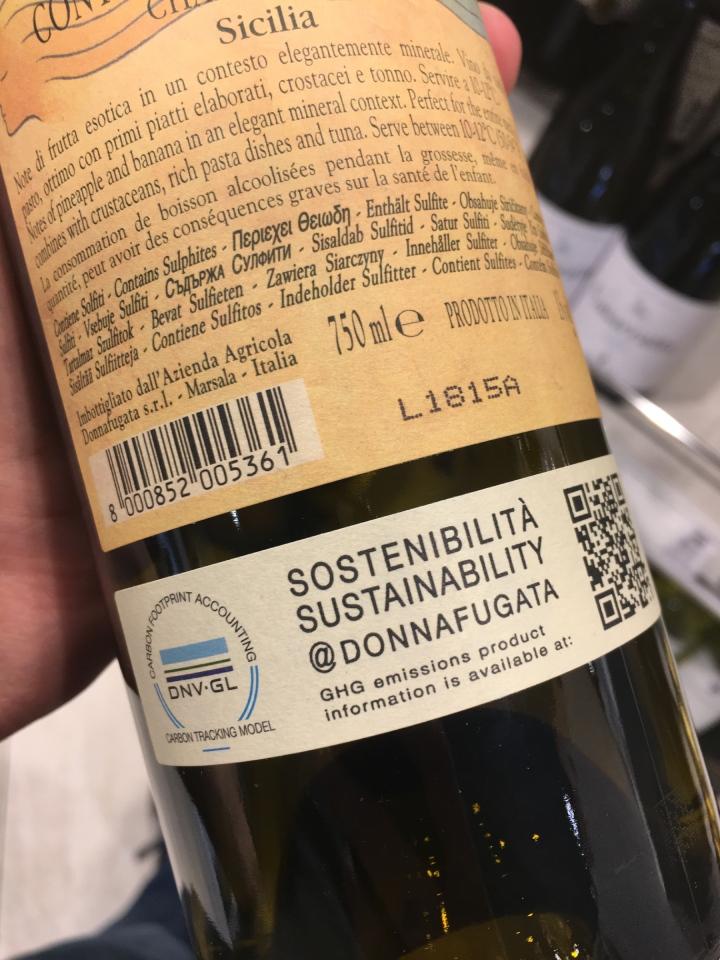 Questa bottiglia èstata certificata dalla norvegese Dnv-Gl