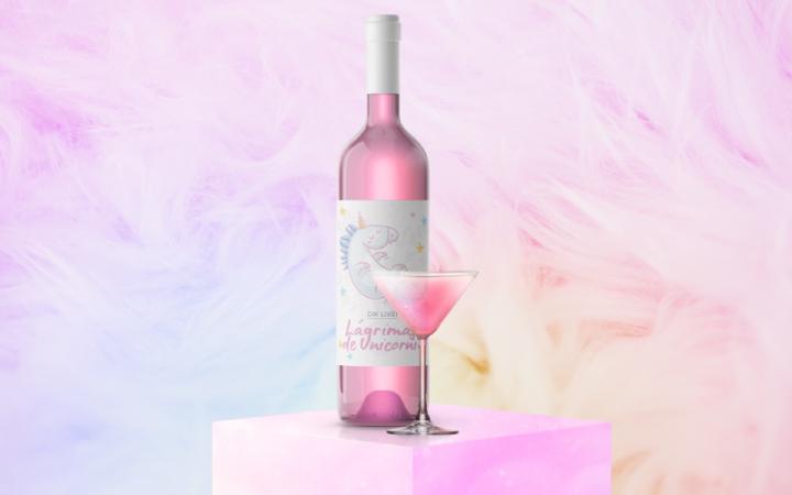 Il vino rosa di Gik Live!
