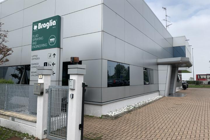 La sede di Braglia Spaa Reggio Emilia