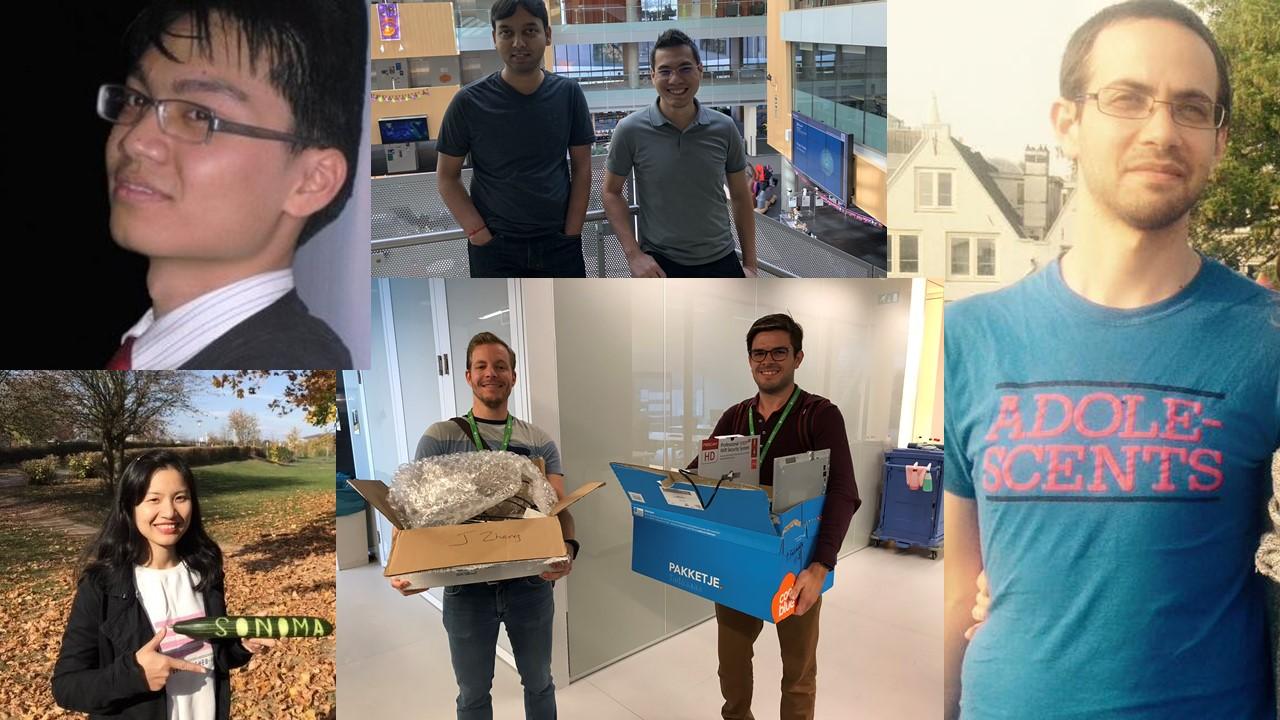 Il team Sonoma, vincitore dell'Autonomous Greenhouse Challenge