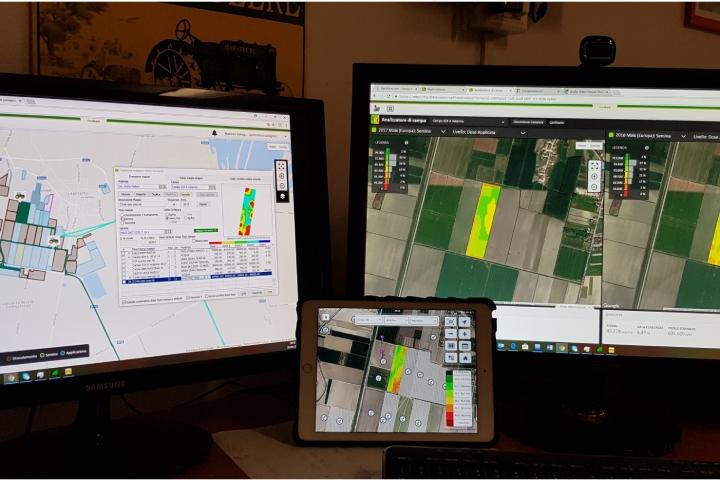 Alcuni dei software utilizzati per la gestione dei campi