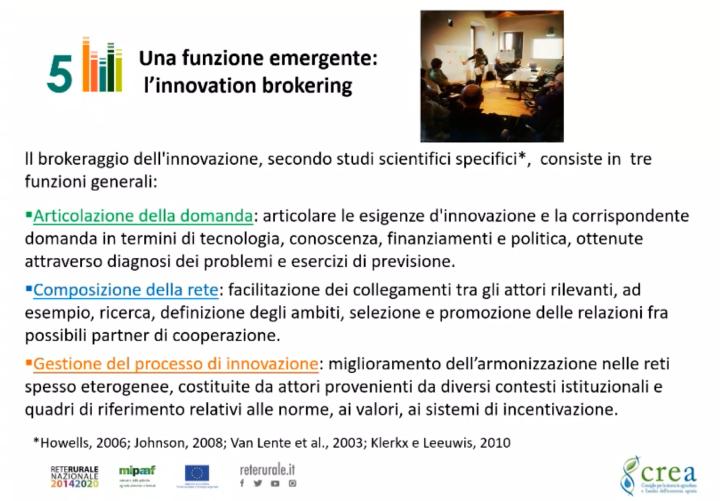 Una funzione emergente: l'innovation brokering