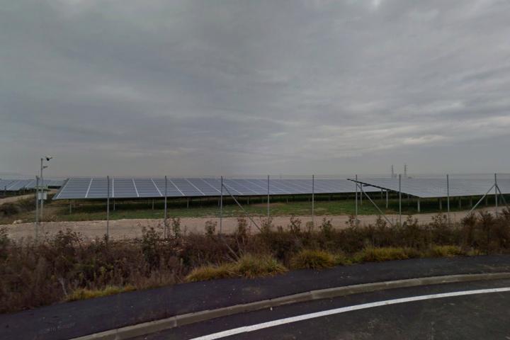 L'impianto di San Bellino visto da Google StreetView