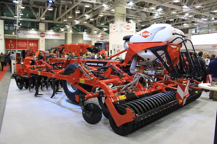 Il coltivatore di Kuhn Performer 4000
