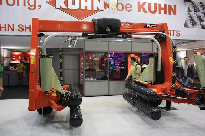 La fasciatrice Kuhn SW4014