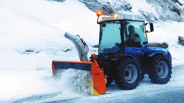 L'Invictus K600 di BCS è ideale per la rimozione della neve