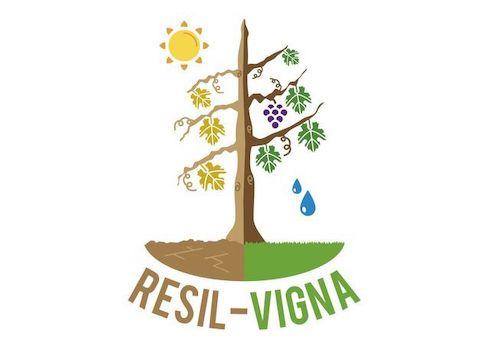 Il logo del progetto Resilvigna